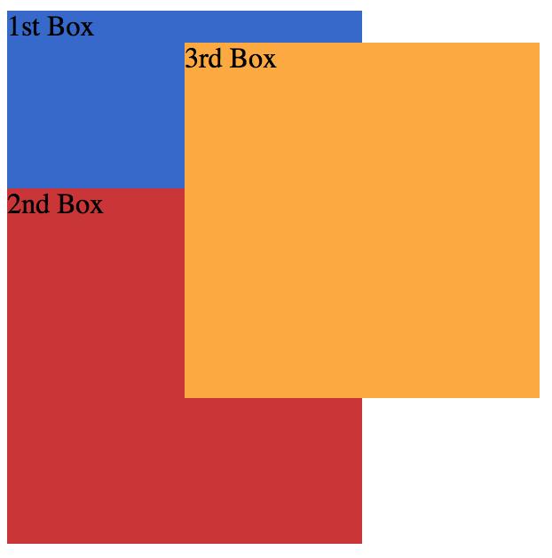 z-index 함정퀴즈 #1 정답